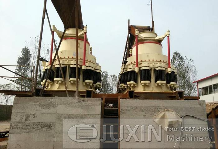 100-150t/h granite sand making line