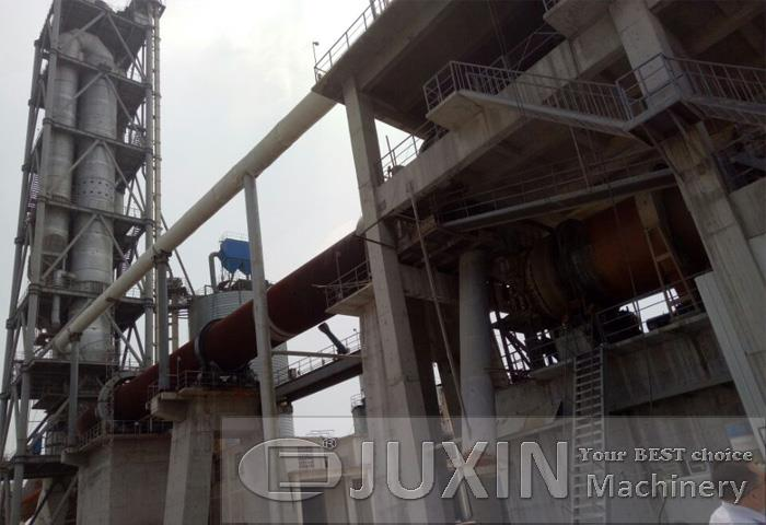 500TPD white cement production plant in Xinxiang